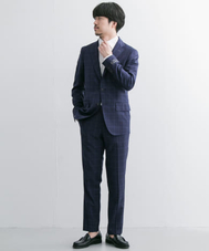 URBAN RESEARCH Tailor REDA ICESENSEチェックスーツ