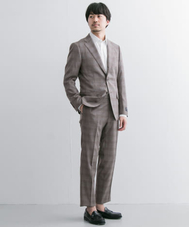 URBAN RESEARCH Tailor REDA ICESENSEミニチェックスーツ