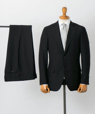 LIFE STYLE TAILOR BLACK SUITS