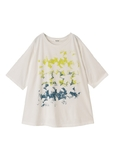 【SALE】Plantation L-line / S カケアミフラワーT / カットソー 白