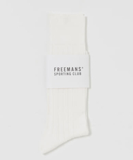 FREEMANS SPORTING CLUB TAILOR SOCKS RIB